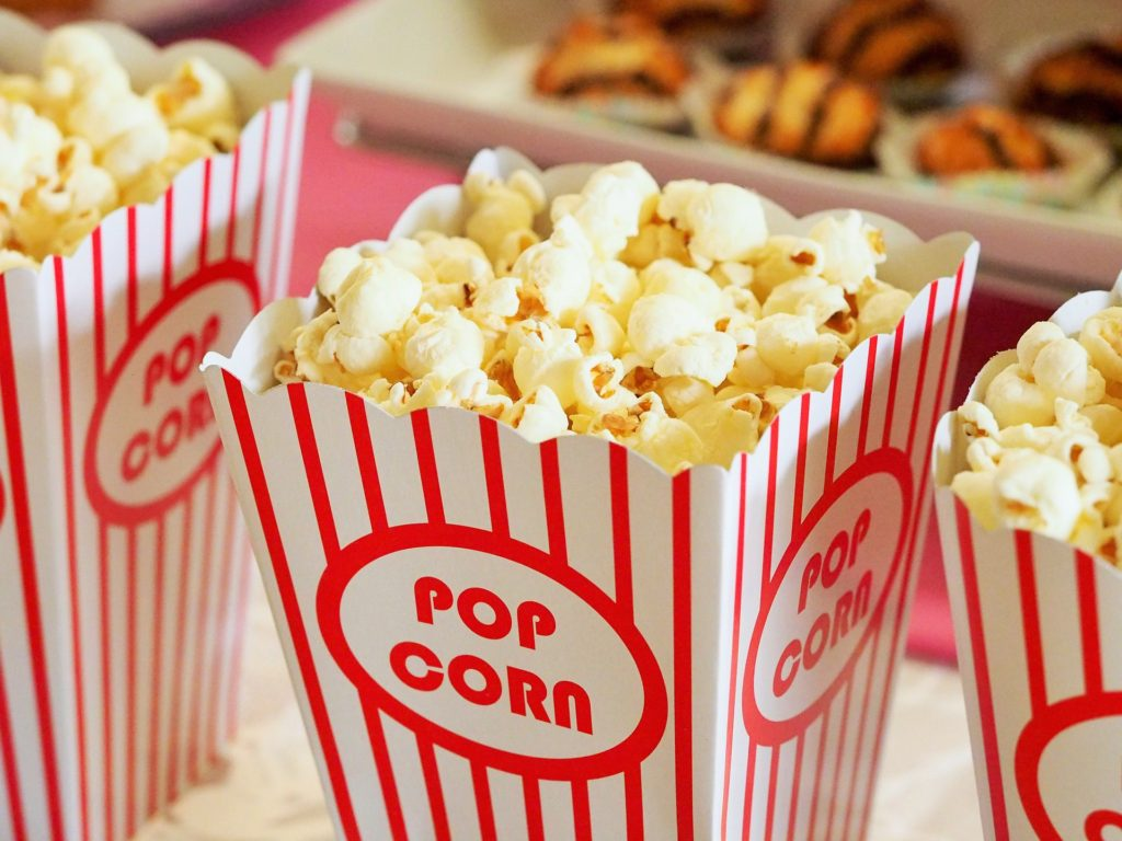 air popped popcorn